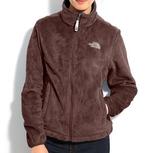 THE NORTH FACE OSITO FLEECE JACKET BROWN M
